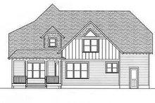 House Plan Design - Craftsman Exterior - Rear Elevation Plan #413-102