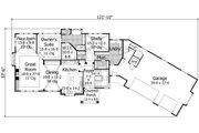 European Style House Plan - 4 Beds 3.5 Baths 4552 Sq/Ft Plan #51-547 Floor Plan - Main Floor Plan