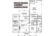 Farmhouse Style House Plan - 3 Beds 2 Baths 2041 Sq/Ft Plan #21-462