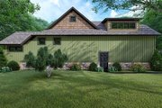 Farmhouse Style House Plan - 3 Beds 2 Baths 1998 Sq/Ft Plan #923-153 Exterior - Other Elevation