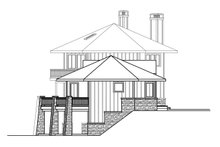 Dream House Plan - Craftsman Exterior - Other Elevation Plan #124-1206
