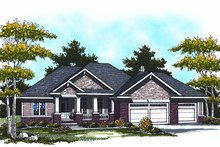 Dream House Plan - Traditional Exterior - Front Elevation Plan #70-862