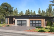 Prairie Style House Plan - 4 Beds 3.5 Baths 4087 Sq/Ft Plan #1066-79