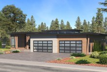 Dream House Plan - Prairie Exterior - Other Elevation Plan #1066-79