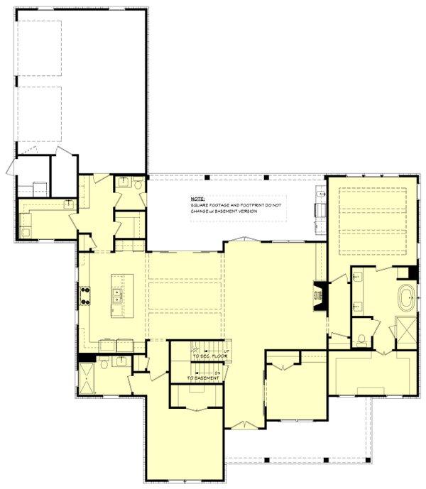 Dream House Plan - Farmhouse Floor Plan - Other Floor Plan #430-260