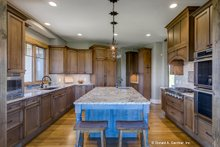 Dream House Plan - Ranch Interior - Kitchen Plan #929-655