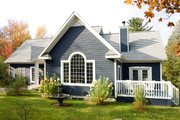 Farmhouse Style House Plan - 3 Beds 2 Baths 1969 Sq/Ft Plan #23-230 Exterior - Front Elevation