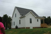 House Plan Design - Craftsman Exterior - Rear Elevation Plan #936-8