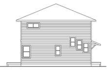 Dream House Plan - Contemporary Exterior - Rear Elevation Plan #124-757