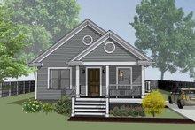 House Plan Design - Bungalow Exterior - Front Elevation Plan #79-116