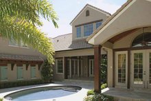 Home Plan - Country Exterior - Rear Elevation Plan #1019-9