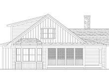 Farmhouse Exterior - Rear Elevation Plan #51-349