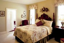 Colonial Interior - Bedroom Plan #927-174