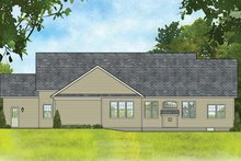 Home Plan - Ranch Exterior - Rear Elevation Plan #1010-193