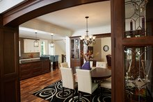 House Plan Design - Craftsman Interior - Dining Room Plan #928-295