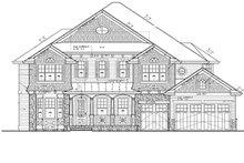 Craftsman Exterior - Front Elevation Plan #132-513