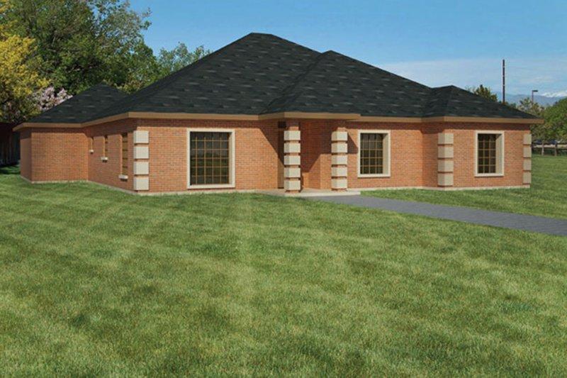 House Plan Design - Ranch Exterior - Front Elevation Plan #1061-22