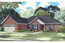 Home Plan - Country Exterior - Front Elevation Plan #17-3304