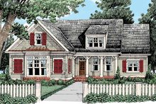Country Exterior - Front Elevation Plan #927-428