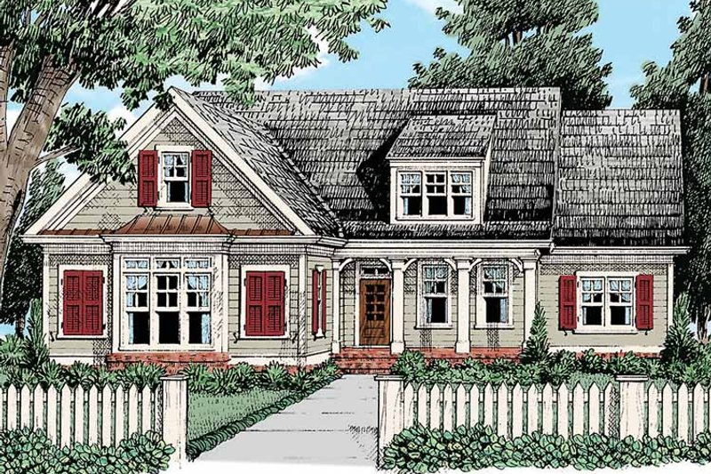 Country Exterior - Front Elevation Plan #927-428 - Houseplans.com
