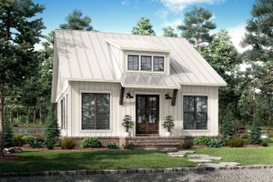 Farmhouse Exterior - Front Elevation Plan #430-238