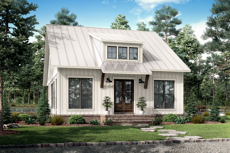 Farmhouse Exterior - Front Elevation Plan #430-238