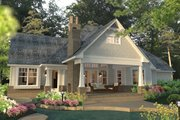 Craftsman Style House Plan - 3 Beds 2.5 Baths 2575 Sq/Ft Plan #120-248 Exterior - Rear Elevation