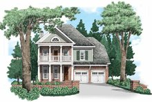House Plan Design - Traditional Exterior - Front Elevation Plan #927-656