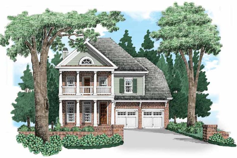 Traditional Exterior - Front Elevation Plan #927-656