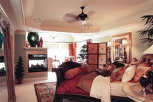 House Design - Colonial Interior - Master Bedroom Plan #927-393