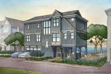 Home Plan - Contemporary Exterior - Front Elevation Plan #928-270