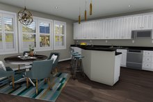 Ranch Interior - Kitchen Plan #1060-2