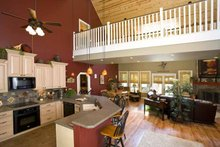 Home Plan - Country Interior - Family Room Plan #17-3266
