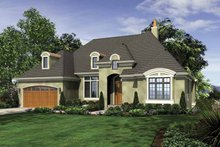 Home Plan - Traditional Exterior - Front Elevation Plan #48-863