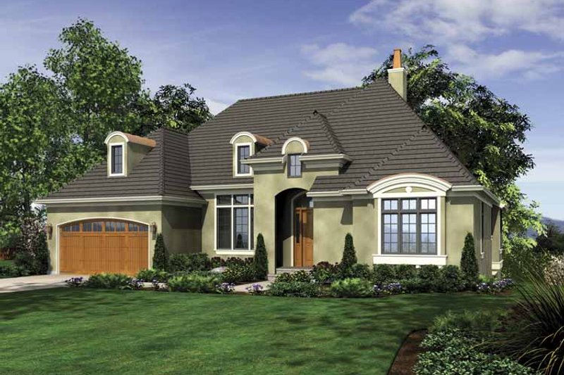 Traditional Exterior - Front Elevation Plan #48-863