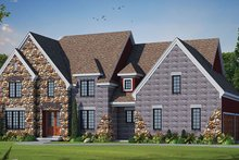House Design - European Exterior - Front Elevation Plan #20-2247
