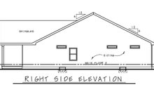 Dream House Plan - Farmhouse Exterior - Other Elevation Plan #20-2440