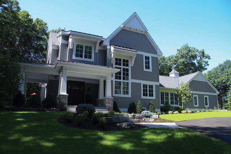 Craftsman Exterior - Front Elevation Plan #928-277 - Houseplans.com