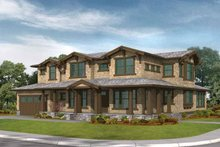Craftsman Exterior - Front Elevation Plan #132-331