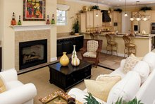 Country Interior - Family Room Plan #929-897
