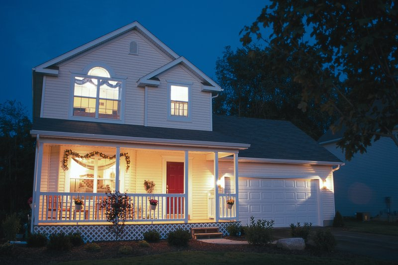 Home Plan - Country Exterior - Front Elevation Plan #20-2218