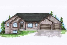 Traditional Exterior - Front Elevation Plan #945-118