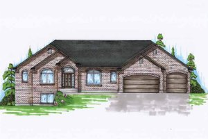 Home Plan - Traditional Exterior - Front Elevation Plan #945-118