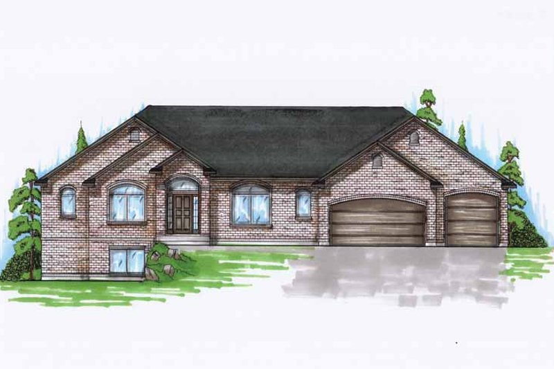 Traditional Exterior - Front Elevation Plan #945-118 - Houseplans.com