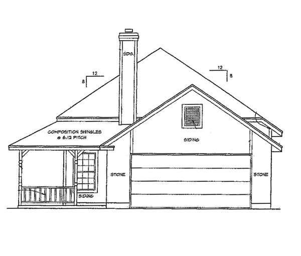 Ranch Floor Plan - Other Floor Plan Plan #472-58