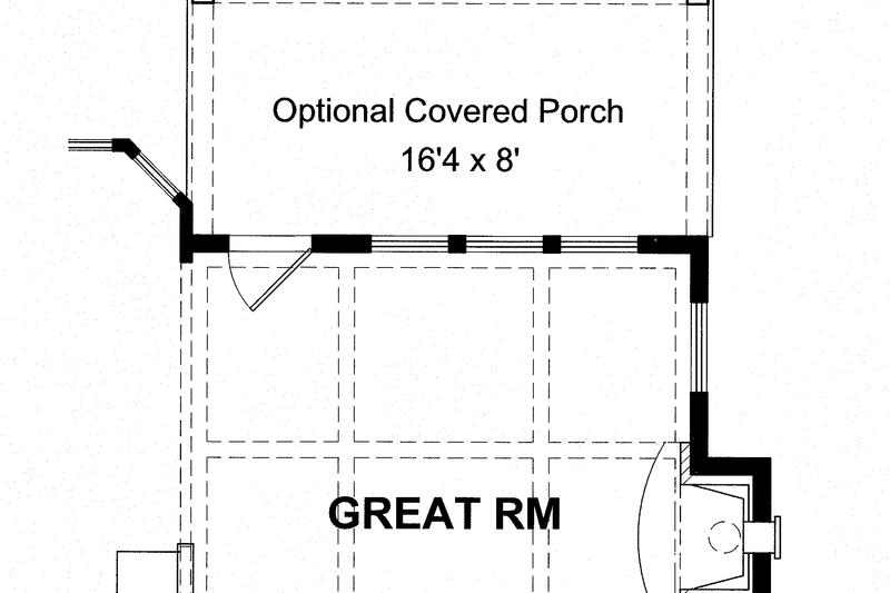Colonial Exterior - Rear Elevation Plan #316-278 - Houseplans.com