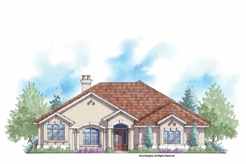 Country Exterior - Front Elevation Plan #938-48 - Houseplans.com