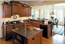 Country Interior - Kitchen Plan #929-441