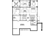 Colonial Style House Plan - 5 Beds 4.5 Baths 4852 Sq/Ft Plan #928-298 Floor Plan - Lower Floor