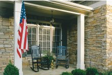 Country Exterior - Covered Porch Plan #927-8